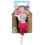 Funny Farm Cat Toy with Catnip - Pig in Blanket