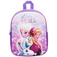 3D School Backpack - Frozen