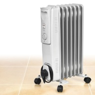 Beldray 7 Fin Oil Filled Radiator 1500W