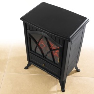 Beldray Boden Electric Stove 1850W - Black