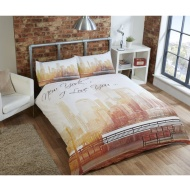 New York I Love You Double Duvet Set
