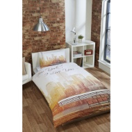 New York City Scene Single Duvet Set