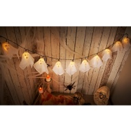 10 Ghost String LED Lights - Warm White