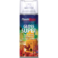 Plastikote Super Gloss Spray Paint 400ml - Clear