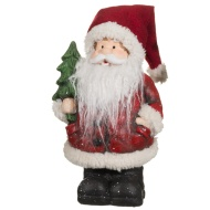 Woolly Santa Christmas Ornament