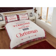 Christmas Double Duvet Cover - Merry Little Christmas