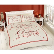 Christmas Double Duvet Cover - Believe in the Magic of Christmas
