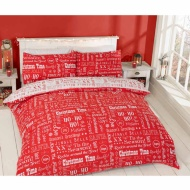 Christmas Double Duvet Cover - Ho Ho Ho