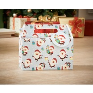 Foldable Gift Box 2pk - Santas