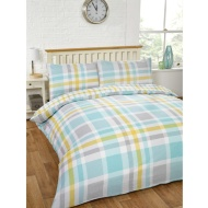 Boston Check Double Duvet Set