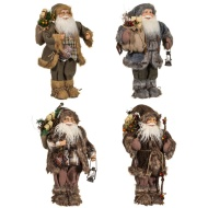 Woodland Santa Decoration 45cm