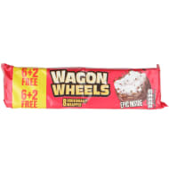 Wagon Wheels 6pk + 2 Free - Original