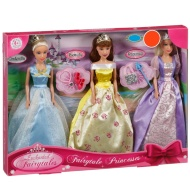 Fairytale Princess Dolls 3pk