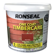 Ronseal One Coat Timbercare - Red Cedar 5L