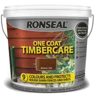 Ronseal One Coat Timbercare - Medium Oak 9L