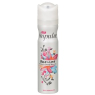 Impulse Rock & Love Amber & Orange Blossom Body Spray 75ml