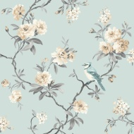 Fine Decor Chinoisierie Sidewall Wallpaper - Teal