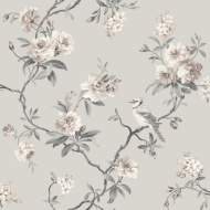 Fine Decor Chinoisierie Sidewall Wallpaper - Stone