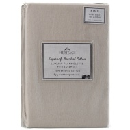 Supersoft Brushed Cotton Sheet King Size