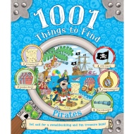 1001 Things to Find Book - Pirates