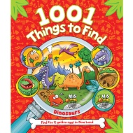 1001 Things to Find Book - Dinosaur
