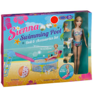 Sienna Swimming Pool Doll & Accessories Set