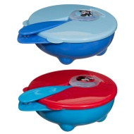 Disney Baby Travel Bowl with Spoon 2pk - Mickey Mouse