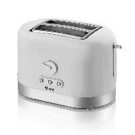 Swan 2 Slice Toaster - White