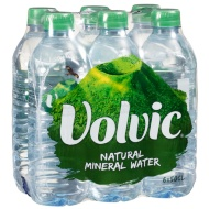 Volvic Natural Mineral Water 6 x 500ml