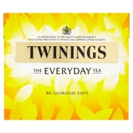 Twinings Everyday Tea Bags 80pk