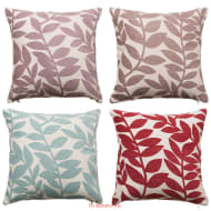Laura Trailing Leaf Luxury Cushion Cover