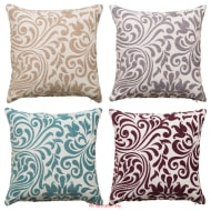 Ferne Floral Luxury Damask Cushion Cover