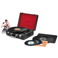 Intempo Retro Bluetooth Turntable - Black