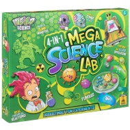 4-in-1 Mega Science Lab - Disgustingly Fun Experiments