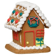 Decorated Gingerbread House 120g