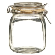Medium Glass Clip Lock Jar