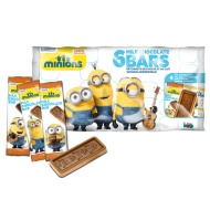 Despicable Me Minions Chocolate Bars 6pk