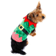 Christmas Dog Outfits - X-Small - Small - Elf