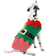 Christmas Dog Outfits - Medium - X-Large - Elf