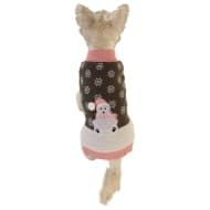 Doggy Christmas Jumper - Polar Bear - Medium - X-Large