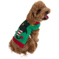 Doggy Christmas Jumper - Elf - Medium - X-Large
