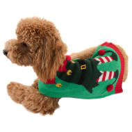 Christmas Doggy Jumper - X-Small - Small - Elf