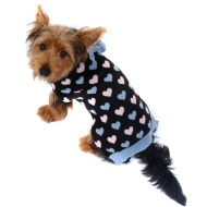 Doggy Jumper - X-Small - Small - Hearts