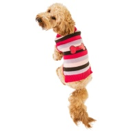 Doggy Jumper (M, L, XL) - Pink Stripes