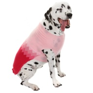 Doggy Jumper - Medium - X-Large - Pink Zigzag