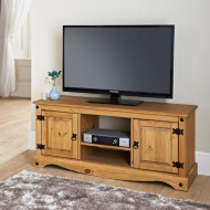 Rio Deluxe 2 Door Wide Media Unit