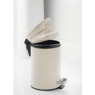 Addis Coloured Bin 3L - White