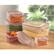 Square Storage Containers 5pk