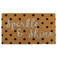 Sparkle Coir Doormat - Sparkle & Shine