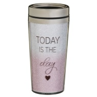 Sparkle Travel Mug - Today is the Day